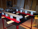 Completed KRMx01 CNC Y-beams.