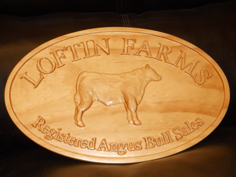 Loftn Farms Plaque.