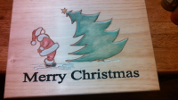 Painted Christmas Plaque